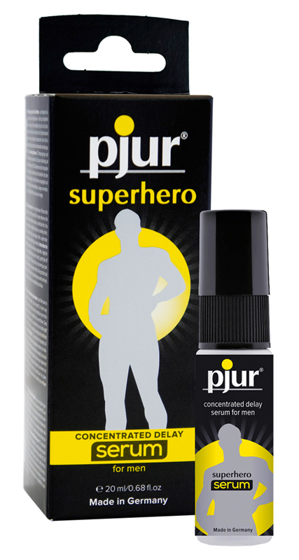 Pjur superhero delay serum 1